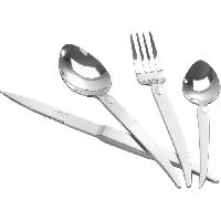 Menagere - Service Complet De Couverts  JEAN DUBOST Menagere 16 pieces Styl'Up - Inox