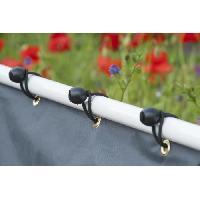 Menuiserie - Huisserie - Cloture 10 liens elastiques pour fixation oeillets - Nature