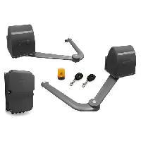 Menuiserie - Huisserie - Cloture AVIDSEN Kit de motorisation a bras articules B250 - 12 VDC - 2 battants - 5 m x 500 kg maxi - Gris