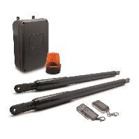 Menuiserie - Huisserie - Cloture Kit de motorisation telescopique Styrka 300 a pistons pour portail a 2 battants 5mx350Kg max