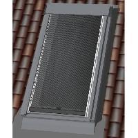 Menuiserie - Huisserie - Cloture MADECOSTORE Store de Toit Extérieur Screen Noir - Noir - 117 x 74/116cm - U04/U08
