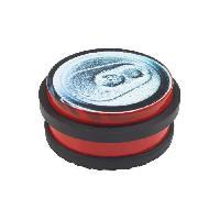 Menuiserie - Huisserie - Cloture METAFRANC butoir de porte - Acier decor canette - 102 x 45 mm