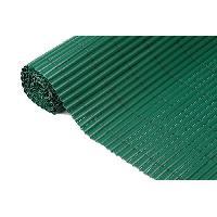 Menuiserie - Huisserie - Cloture NATURE Canisse simple face PVC - 1000 g-m2 - Set de fixation - Vert - 1 x 3 m