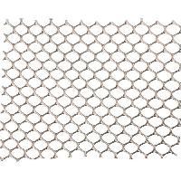 Menuiserie - Huisserie - Cloture NATURE Grillage pour parterre - HDPE gris - Maille hexagonale 5 mm - 0.5x3 m