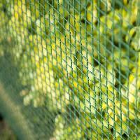 Menuiserie - Huisserie - Cloture NATURE Grillage pour parterre / balcon - HDPE vert - Maille 5x5 mm - 1x3 m