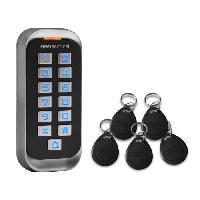 Menuiserie - Huisserie - Cloture SCS Clavier de codage avec badges 12V - CodeAccess RFID