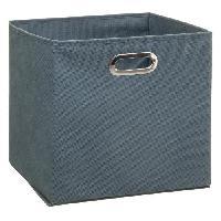 Meuble Boîte de rangement 31x31 cm - Bleu orage