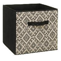 Meuble Boîte de rangement 31x31 cm - Ethnique