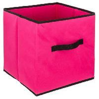 Meuble Boîte de rangement 31x31 cm - Framboise