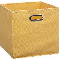 Meuble Boîte de rangement 31x31 cm - Jaune