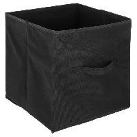 Meuble Boîte de rangement 31x31 cm - Noir