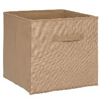 Meuble Boîte de rangement 31x31 cm - Toile de jute