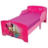 Meuble De Chambre Fun House Disney Minnie Paris lit pour enfant - Avec lattes - 140x70 cm