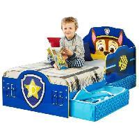 Meuble De Chambre La Pat' Patrouille - Lit pour enfants avec tiroirs de rangement sous le litpour matelas 140cm x 70cm