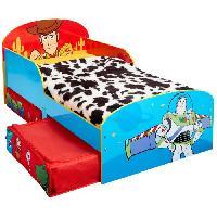 Meuble De Chambre TOY STORY Lit enfant 70x140 cm avec espace de rangement sous le lit