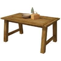 Meuble De Sejour - Entree CAMPAGNE Table a manger de 8 a 10 personnes classique décor ton bois - L 180 x l 89.6 cm Aucune