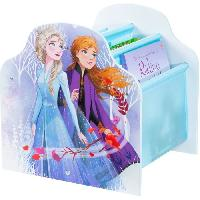 Meuble De Sejour - Entree Disney La Reine des Neiges - Bibliotheque a pochettes pour enfants - Rangement de livres pour chambre d'enfant