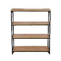Meuble Etagere Etagere meuble TEOLLINEN style industriel decor bois - L 88 cm