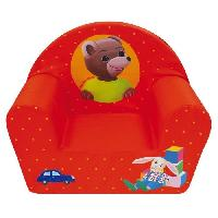 Meubles Bebe Fun House Petit Ours Brun fauteuil club en mousse pour enfant