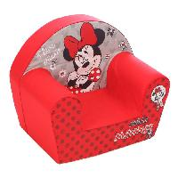 Meubles Bebe MINNIE Fauteuil Club Disney Baby Rouge