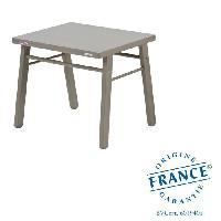 Meubles Bebe Table enfant laque gris clair