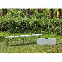 Meubles D'exterieur - De Jardin Banc pliable pour table de réception 180 cm Aucune