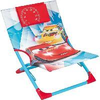Meubles D'exterieur - De Jardin Fun House Disney Cars chaise de plage - transat pour enfant