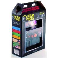 Meuleuse FARTOOLS Set 167 accessoires pour mini meuleuse pour le plastique