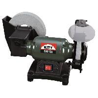 Meuleuse KITY Touret a meuler mixte BHS150 - 250W - 200 mm - Bati en fonte + meule seche et a eau