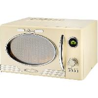 Micro-ondes EFBE SCHOTT MW2500DG - Four micro-ondes grill creme - 25 L - 900 W - Grill 1000 W - Pose libre - Efbe-schott