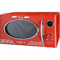 Micro-ondes EFBE SCHOTT MW2500DG-R - Four micro-ondes grill rouge - 25 L - 900 W - Grill 1000 W - Pose libre - Efbe-schott