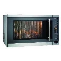 Micro-ondes ELECTROLUX EMS30400OX - Micro-ondes - 27.6L - 900W - Grill: 1100W - Inox