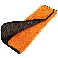 Microfibres 1 chiffon microfibre 2en1 40x45cm Orange noir