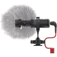 Microphone Externe - Micro Pour Camescope Microphone-camera RODE Microphones VIDEO MIC MICRO avec cable. avec protection pare-