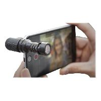 Microphone Externe - Micro Pour Camescope Microphone compact VideoMic Me - Pour Smartphone