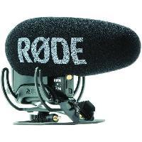 Microphone Externe - Micro Pour Camescope RODE Microphone compact VideoMicPro + - Pour camera et appareil photo numerique