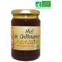 Miel Miel de châtaignier - Bio - 375g - Marque Nationale