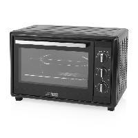 Mini-four - Rotissoire PRINCESS 01.112750.01.001 Mini-four grill - 35 L - Chaleur tournante - Convection - 1500W - Noir