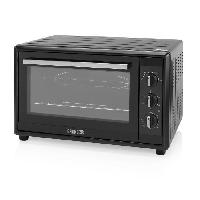 Mini-four - Rotissoire PRINCESS 01.112760.01.001 Mini-four grill - 55 L - Chaleur tournante - Convection - 2200W - Noir