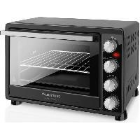 Mini-four - Rotissoire TAURUS  Horizon 45-Mini four-45 L-2000 W-Cuisine traditionnelle. sole. voûte. rôtissoire et convection-Noir
