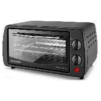 Mini-four - Rotissoire TAURUS Horizon 9-Mini four-9 L-800 W-Cuisine traditionnelle. sole et voûte-Noir