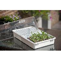 Mini-serre - Pack Germination - Pack Bouturage Mini-serre culture - réserve d'eau - H22x55x31cm Nature