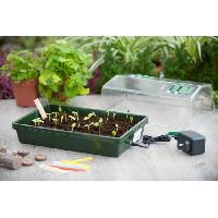 Mini-serre - Pack Germination - Pack Bouturage Mini serre chauffante H19x38x24cm Nature