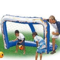Mini Cage - Mini But BESTWAY But de football gonflable + ballon - 36 cm de diametre