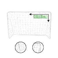 Mini Cage - Mini But BUMBER But de football - L 107 x 87 cm - Blanc - Generique