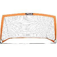 Mini Cage - Mini But STIGA But de football Match - L 200 x H 100 x P 100 cm - Orange et noir