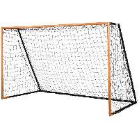 Mini Cage - Mini But STIGA But de football Scorer L - L 300 x H 183 x P 152 cm - Noir et orange - Afibel