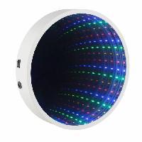Miroir GLOBO Mirroir eclaire plastique L23 x l23 - Globo Lighting