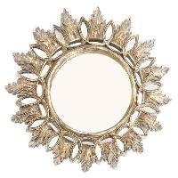 Miroir HENRI Miroir mural - D 40 cm - Couleur dore