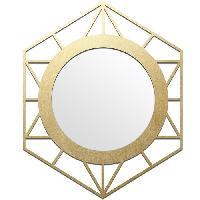 Miroir Miroir Cooper Ls - 40 x 50 cm - Dore - Generique